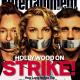 La grève à la une de Entertainment Weekly