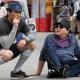 Spotted : David Duchovny et Evan Handler sur le tournage de Californication