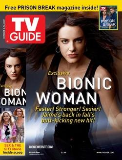 TV Guide - Bionic Woman