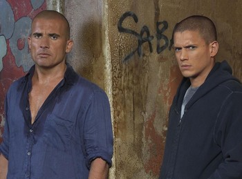 Dominic Purcell et Wentworth Miller