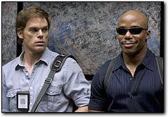 Dexter - Michael C. Hall et Erik King