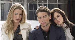 Blake Lively, Chace Crawford et Leighton Meester