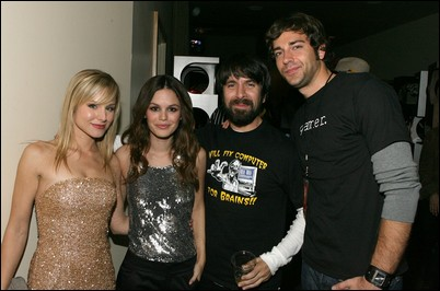 Kristen, Rachel, Joshua et Zachary