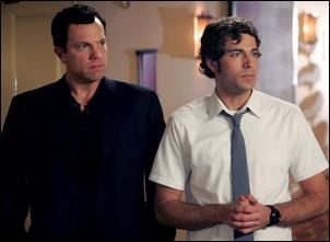 Chuck - Adam Baldwin et Zachary Levi