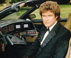 David Hasselhoff dans K2000 dans les années 80