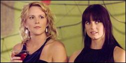 The L Word - Laurel Holloman et Mia Kirschner