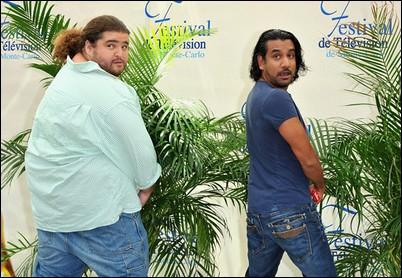 Jorge Garcia et Naveen Andrews