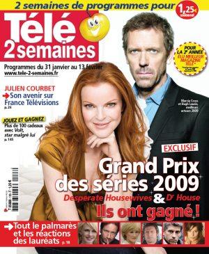 Télé 2 Semaines - 26 janvier 2009