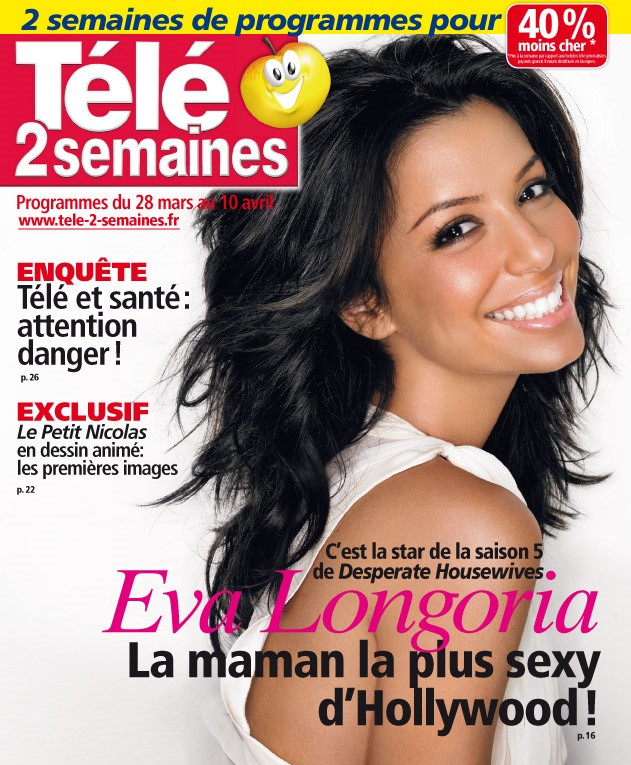 Eva longoria et simon baker les stars les plus sexy de la t l us tv chronik - Tele 2 semaines contact ...