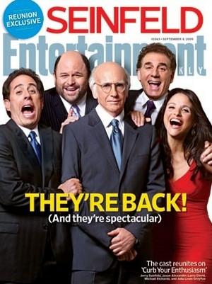 Le quatuor de Seinfeld autour de Larry David