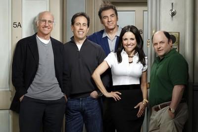 Le quatuor de Seinfeld dans Larry et son nombril