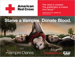 """Starve a vampire. Donate Blood"""