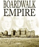 """La couverture du livre """"Boardwalk Empire"""""""