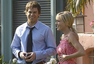 Michael C. Hall et Julie Benz (Dexter)