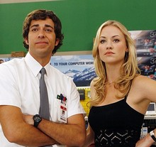 Zachary Levi et Yvonne Strahovski (Chuck)