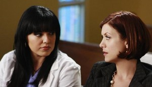 Sara Ramirez et Kate Walsh (Grey's Anatomy)