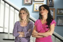 Julie Bowen et Sofia Vergara (Modern Family)