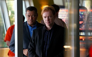 Laurence Fishburne et David Caruso (Les Experts Miami)