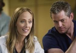 Kim Raver et Eric Dane (Grey's Anatomy)
