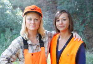 Amy Poehler et Rashida Jones (Parks & Recreation)
