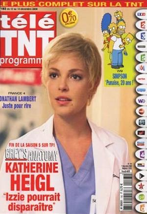 Katherine Heigl - Télé TNT