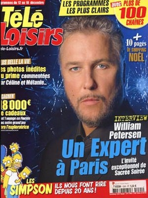 William Petersen - Télé Loisirs