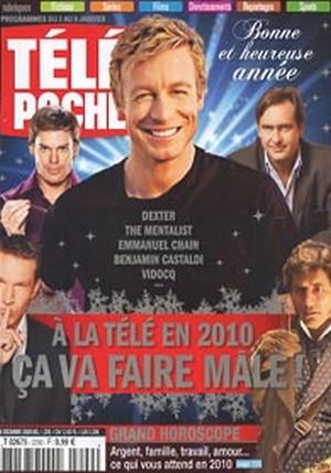 Simon Baker - Télé Poche