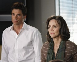 Rob Lowe et Sally Field (Brothers & Sisters)