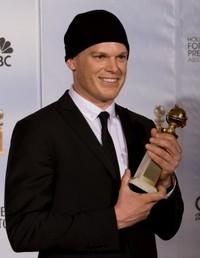Michael C. Hall aux Golden Globes 2010