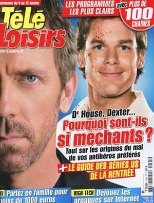Dr House et Dexter - Télé Loisirs