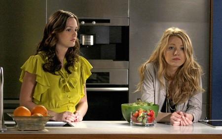 Leighton Meester et Blake Lively (Gossip Girl)