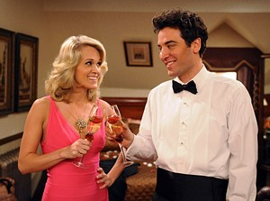 Carrie Underwood et Josh Radnor (How I Met Your Mother)