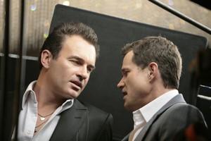 Julian McMahon et Dylan Walsh (Nip/Tuck)