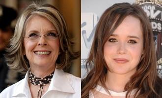 Diane Keaton et Ellen Page