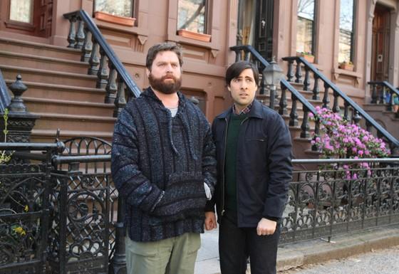 Jason Schwartzman et Zach Galifianakis (Bored To Death)