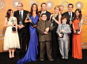 Le cast de Modern Family